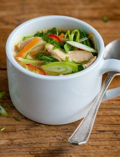 Thai chicken soup by Andy Waters