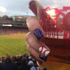 Happy Opening Day! Here Are 7 Cute Baseball Nail Art Ideas - Nails - StyleBistro