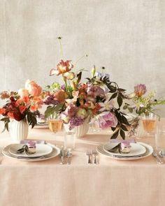 Spring luncheon floral arrangements xoSocialite via @Kelly Teske Goldsworthy Wearstler