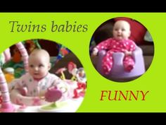 Bebelusi gemeni care rad, Funny twins babies that laughing, Baby zwillinge lachen, gemelos riendose Twin Babies, Twins, Twin Humor, Funny Babies, Funny Moments, Baby, Video Clip, Laughing, Twin Baby Boys