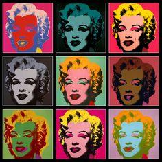 アンディ・ウォーホル『マリリン・モンロー』ポップ・アート