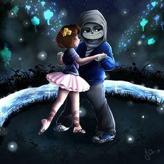 Dancing in Waterfalls - Undertale (DanceTale) by KyOoRockers