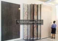 Supersize Extra Large Format Tiles