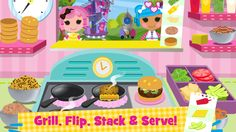 ‎Lalaloopsy Diner - A Candy Coated Burgeria, Pizza Party Cooking Game