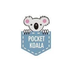 Pocket Koala | Logo Design Gallery Inspiration | LogoMix