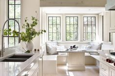 Sun drenched breakfast nook