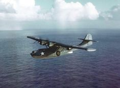 A Catalina PBY-5A, the model the men sighted that day. Wikipedia