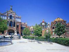 Barcelona Spain Attractions   Spain Travel - Spain Tourist Attractions Wallpapers - Hospital de Sant ...