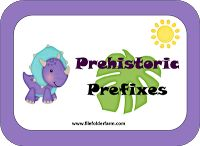 File Folder Farm: Prehistoric Prefixes  Un and re