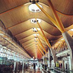 Madrid Airport - Richard Rogers