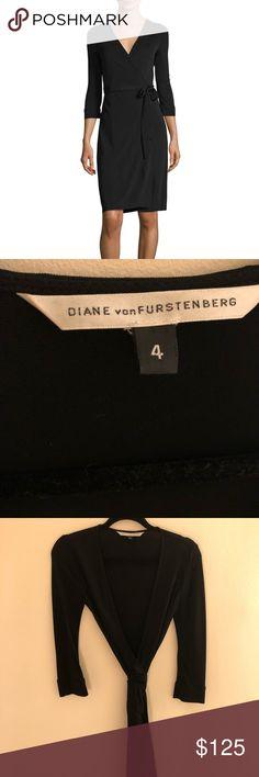 Diane Von Furstenberg (DVF) classic wrap dress Doesn't get more classic than the DVF wrap dress! Amazing condition- no flaws! 😘✨😘💯😘💯 Diane Von Furstenberg Dresses