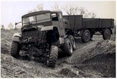 Scammell Pioneer with trailer Vintage Trucks, Old Trucks, Pickup Trucks, Classic Motors, Military Equipment, Commercial Vehicle, Armored Vehicles, Car Humor, Classic Trucks