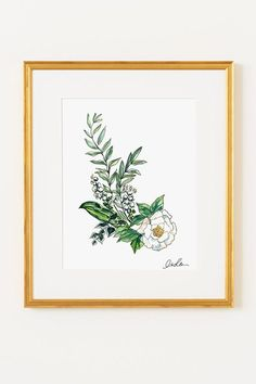 The Prettiest Affordable Art Prints To Gift #refinery29  http://www.refinery29.com/art-print-gifts#slide-6  If you're stumped about what to get your girly girlfriends, we point you to the darling watercolors by illustrator Inslee Fariss. The botanical prints are a flawless choice for all the sweet souls in your life.