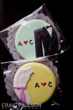 cookies ,  party favors ,  wedding ,  treats ,  Craig Paulson Photography ,  Craig Paulson