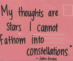 #John Green #quote