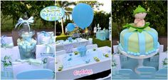 Sweet Pea Baptism Party Ideas | Photo 10 of 12 | Catch My Party