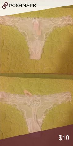 NWT Victoria's Secret Bridal Wedding Shower Panty Size S Victoria's Secret Intimates & Sleepwear