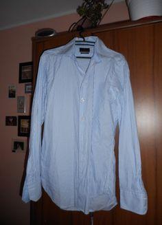 Kup mój przedmiot na #vintedpl http://www.vinted.pl/odziez-meska/koszule/10664418-prosta-koszula-w-delikatne-bialo-niebieskie-paski-od-paulo-corsini