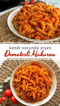 Tomato Pasta Sauce, Creamy Tomato Sauce, Infused Water Recipes, Fruit Infused Water, Macaroni Pasta, Turkish Recipes, How To Cook Pasta, Food Photography, Brunch