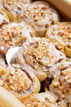 These Tropical Cinnamon Rolls are sweet and fluffy like traditional cinnamon rolls, but they are filled with a fruity, tropical twist.
