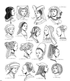 History Renaissance Clothing for Women | Renaissance Clothing Coloring Page Exploring History