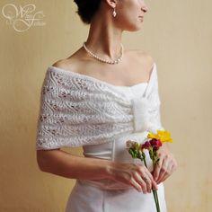 BRIDAL CAPE wedding shrug warm and soft very by WhiteFashion, $75.00