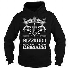 I Love RIZZUTO Last Name, Surname Tshirt T shirts