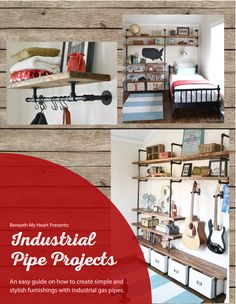 I finally finished the industrial shelves on Luke's wall! I've been dying to show them to you! They have been finished for quite a while now, but I was searching for the perfect light to go over his bed, and I haven't been able to find it. So I am still looking. But for […]