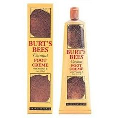 Burt's Bees Coconut Foot Creme (4.34oz). #beauty, #skincare, #feet #care