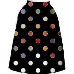 Dot's Nice Full Skirt by martzart