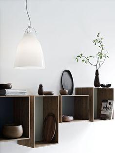 Caravaggio P2 Opalglas #brightbelysning #bright123 #belysning #belysningsbutik #lamps #lampor #inredning #interiordesign