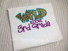 WILD about __ Grade T Shirt by SewHapDesign on Etsy