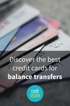 Those carrying credit card debt know how difficult it can be to manage and pay off with those finance charges adding to your debt on a monthly basis. Take a look at Credit Sesame's balance transfer credit cards and find one that is a fit for you and your lifestyle. Alleviate some or all of that debt over time by finding the perfect card with Credit Sesame's list.