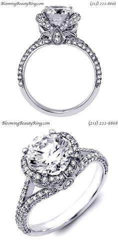Custom Hand-Made Designer Diamond Engagement Ring Most Popular Engagement Rings, Engagement Ring Styles, Designer Engagement Rings, Engagement Jewelry, Diamond Engagement Rings, 2 Carat Diamond Ring, Diamond Rings, Bridal Rings, Bridal Jewelry