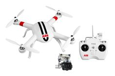 AEE Technology AP11 GPS Drone Quadcopter 3-Axis Gimbal (White)