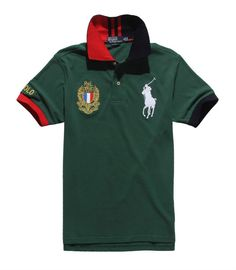 Polo Ralph Lauren Flag Green T-Shirt,ralph lauren on sale,Wholesale Online
