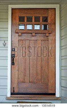 Colors interior doors and interiors on pinterest for Californian bungalow front door