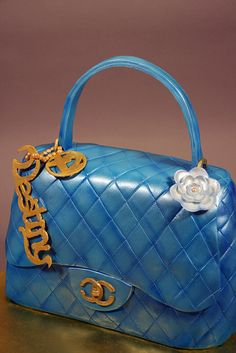 Chanel Bag Cake - For all your cake decorating supplies, please visit craftcompany.co.uk