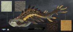 Markus Lenz Subnautica Creatures, Fantasy Creatures, Mythical Creatures, Monster 2, Fantasy Monster, Creature Concept Art, Creature Design, Fantasy Beasts, Fantasy Art