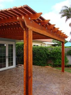 Love this patio cover for the back patio
