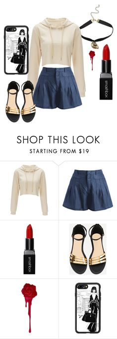 """""""Casual Street Style"""" by drini0109 on Polyvore featuring moda, Disney, Smashbox y Casetify"""