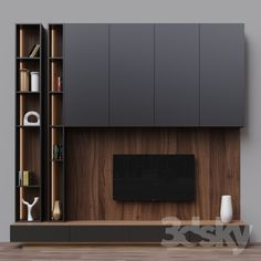 Overige – TV Zona 18 – Living Room ideas – Welcome The uniteTv Living Room Tv Unit Designs, Living Room Wall Units, Living Room Interior, Living Rooms, Tv Unit Decor, Tv Wall Decor, Tv Cabinet Design, Tv Wall Design, Armoires Murales Tv