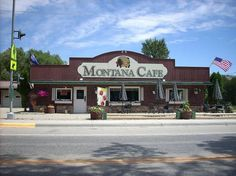 The Montana Cafe in Darby, MT. When I was 18, I drove 12 hours by myself to go see my best friend who had just moved over there. Her mom owned the cafe, and they lived in the house behind it. This cafe is famous because Hank Williams, Jr used to eat here and he named an album after this tiny little place in the middle of nowhere.