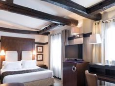Maison Nabis**** by HappyCulture™ Paris Hotels, 4 Star Hotels, A Boutique, Cosy, Curtains, Luxury, Bed, France, Furniture