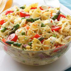 Pasta & Veggie Salad -