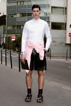 Givenchy Pre-Spring 2013 Menswear Collection  #fashion #menswear
