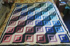 Ravelry: Good and Evil Granny Crochet Blocks Afghan