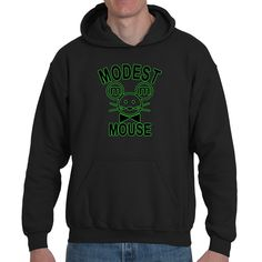 Hoodies , Modest Mouse (Q) , 2 colors. by Exclusive21 on Etsy