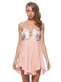 I would wear this dress to Homecoming