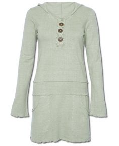 This could be made - buy 2 sweatshirts, use the first as a sweatshirt and the second cut down to be the skirt/tunic portion.